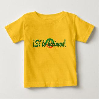 Hicimos españoles del lo del Si de la inauguración Camisas