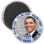 hicimos sí a presidente Obama Magnet Imán De Frigorifico
