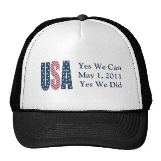 Hicimos sí el gorra muerto de Bin Laden