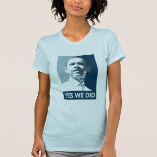 Hicimos sí la camiseta del poster