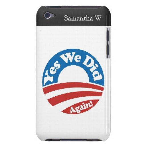 ¡Hicimos sí, otra vez! Case-Mate iPod Touch Protectores