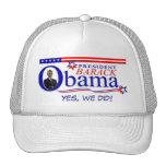 ¡Hicimos sí! - Presidente Obama Hat Gorro De Camionero