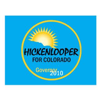 Hickenlooper 2010 Postcard