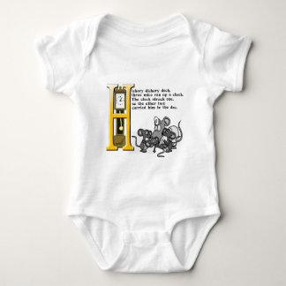 Hickery Dickery Dock Baby Bodysuit