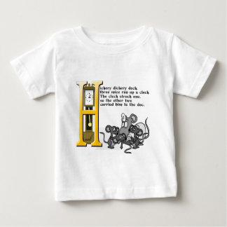 Hickery Dickery Dock Baby T-Shirt