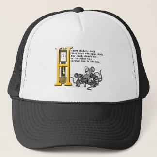 Hickery Dickery Dock Trucker Hat