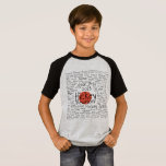 """Hickey 2018 Red Dot Shirt<br><div class=""""desc"""">Hickey 2018 Reunion Shirt with hand scrawled names and red dot.</div>"""