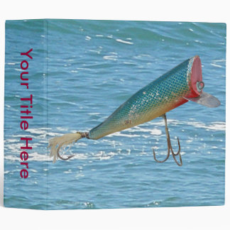 Hickey Do Beachcomber Antique Lure Binder