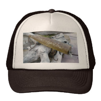 Hickey Do Swimmer Vintage Lure Hat