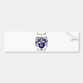 HICKEY FAMILY CREST -  HICKEY COAT OF ARMS BUMPER STICKER