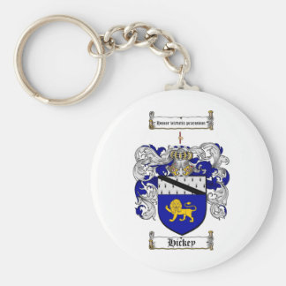 HICKEY FAMILY CREST -  HICKEY COAT OF ARMS KEYCHAINS