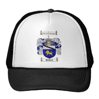 HICKEY FAMILY CREST -  HICKEY COAT OF ARMS TRUCKER HAT