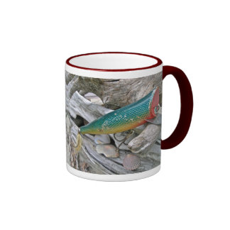 Hickey hace serie del señuelo de la pesca del taza de dos colores