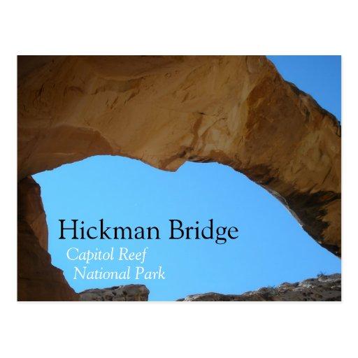 Hickman Bridge Postcard