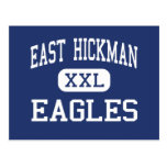 Hickman del este - Eagles - altos - Lyles Tennesse Tarjeta Postal