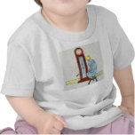 Hickory, dickory, dock! The mouse ran up the clock T-shirt