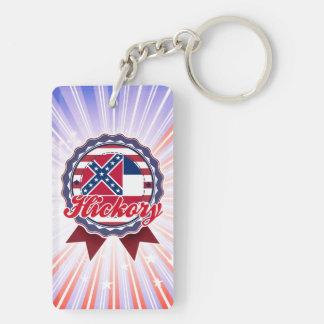 Hickory, MS Rectangle Acrylic Keychains