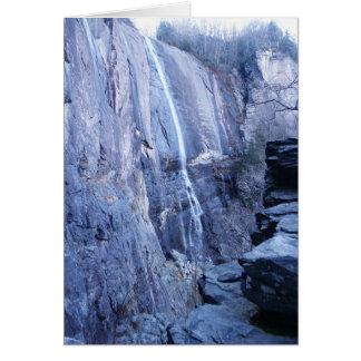 Hickory Nut Falls, Chimney Rock Park N.C. Card