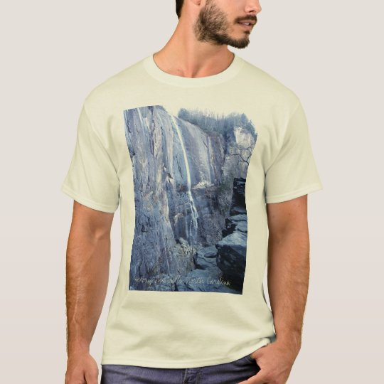 Hickory Nut Falls, North Carolina T-Shirt