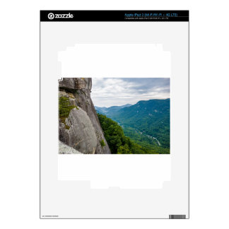 hickory nut gorge chimney rock north carolina lake decals for iPad 3