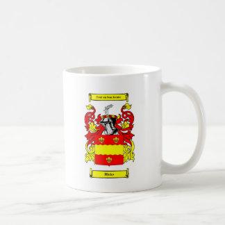 Hicks Coat of Arms Coffee Mug