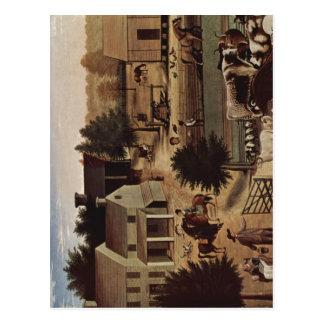 Hicks, Edward Das Anwesen von David Twining, 1787  Postcard