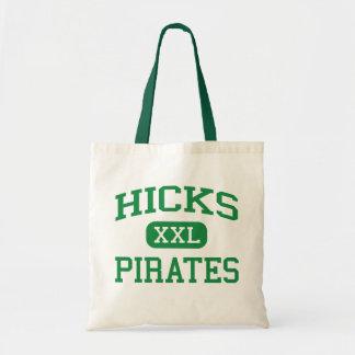 Hicks - Pirates - High - Leesville Louisiana Tote Bag