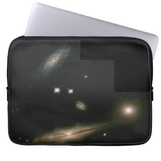 Hickson Compact Group 87- A Minuet of Four Galaxi Laptop Sleeve