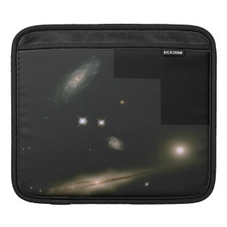 Hickson Compact Group 87- A Minuet of Four Galaxi Sleeve For iPads