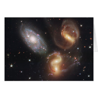 Hickson Compact Group 92 Stephan s Quintet Greeting Cards