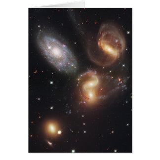 Hickson Compact Group 92 Stephan's Quintet Card