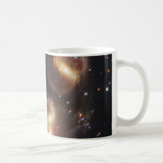 Hickson Compact Group 92 Stephan's Quintet Coffee Mug