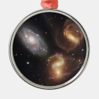 Hickson Compact Group 92 Stephan's Quintet Metal Ornament