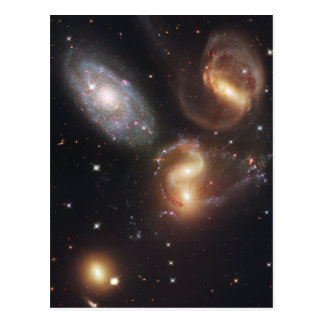 Hickson Compact Group 92 Stephan's Quintet Postcard