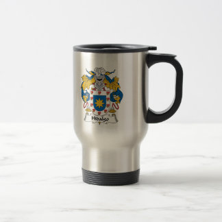 Hidalgo Family Crest Travel Mug