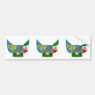 Hidalgo, Mexico flag Bumper Sticker