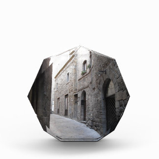 Hidden alley in Volterra village, province of Pisa Award