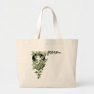 hidden angel jumbo tote bag