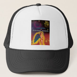 hidden angel trucker hat