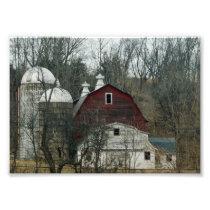 Hidden Barn 7x5 Photographic Print
