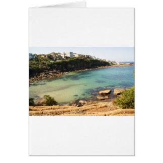 Hidden beach card