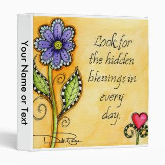 Hidden Blessings 3 Ring Binder