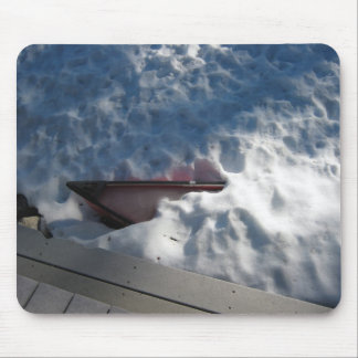 Hidden Boat Mouse Pad