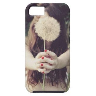 Hidden By a Dandelion iPhone SE/5/5s Case