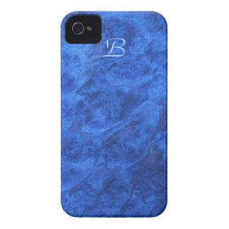 Hidden Canines in Blue Walnut iPhone 4 case