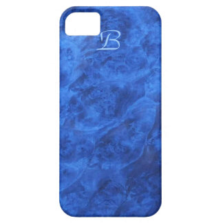 Hidden Canines in Blue Walnut iPhone 5 case