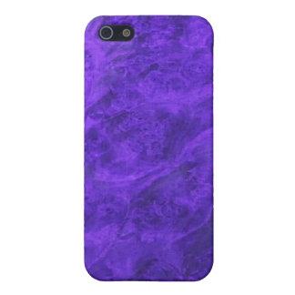 Hidden Canines in Purple Walnut iPhone case