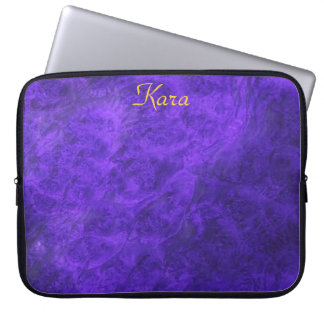 Hidden Canines/Purple Walnut Laptop Sleeve