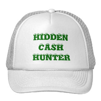 HIDDEN CASH HUNTER - CUSTOMIZABLE CAP TRUCKER HAT