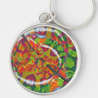 Hidden Chameleon Keychain